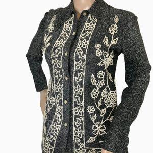 Vintage Decorative Shirt XS